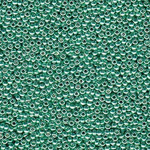 oscuro-verde-menta-20-gramos-miyuki-6-0-seed-bead-duracoat-galvanized-22-g