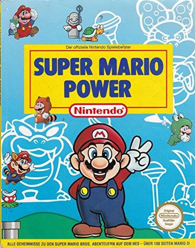 Original Super Mario Power Spieleberater Lösungsbuch für Nintendo Super Mario Bros . 1 2 3 4 NES SNES - Super 1 Mario Nes 2 3