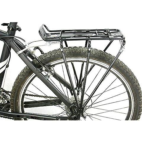 leryjoy (TM) UK in lega di alluminio Mountain Road MTB Ciclismo Bicicletta Bagagli Vettore Posteriore Rack mensola per freno a disco/freni a V per