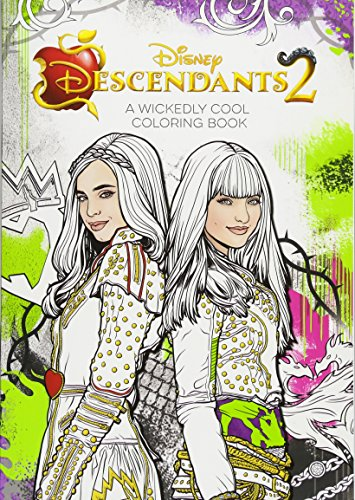 PDF Online] Descendants 2 a Wickedly Cool Coloring Book (Art of ...