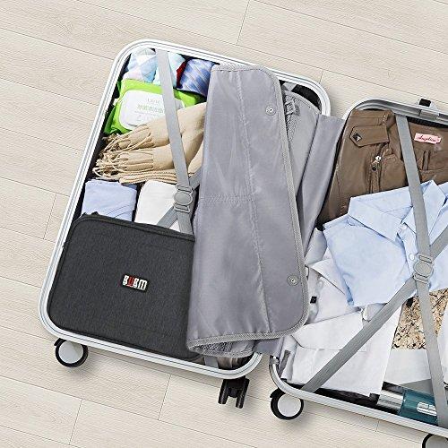 Universal Organiser Tragbar Veranstalter Reise Tragen Fall Case Reisetasche Organisator Tasche mit Doppelschichte für Elektronikzubehör, iPad Mini,USB Kabel ,Speicherkarten