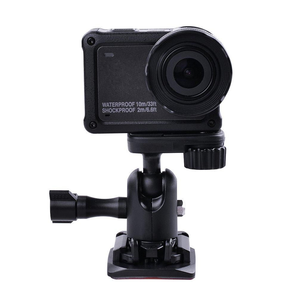 XCSOURCE Adattatore base base regolabile per Nikon KeyMission 170 Azione Telecamere Sport Cam OS909