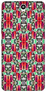 The Racoon Lean printed designer hard back mobile phone case cover for Lenovo Vibe S1. (psychedeli)