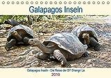 Galapagos Inseln - Die Reise der SY Shangri La (Tischkalender 2019 DIN A5 quer): Die Tierwelt der Galapagos Inseln (Geburtstagskalender, 14 Seiten ) (CALVENDO Tiere)