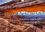 National-Parks der USA (Wandkalender 2019 DIN A4 quer): Eine Reise durch die Einzigartigkeit der National-Parks der USA. Eine Auswahl von 12 bekannten ... (Monatskalender, 14 Seiten ) (CALVENDO Natur)