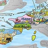Travelmap Weltkarte