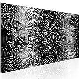 murando Bilder Mandala 120x40 cm - Vlies Leinwandbild - 1 Teilig - Kunstdruck - modern - Wandbilder XXL - Wanddekoration - Design - Wand Bild - Orient Zen f-A-0593-b-d