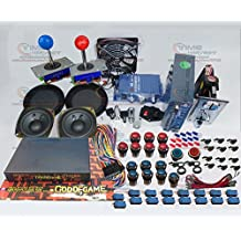 Free shipping by DHL Arcade Game Bundles kit With GOD OF GAMES 900 in 1 Joystick Microswitch illuminated Buttons Fan lock for Arcade Cabinet Machine