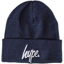 Hype Just Hype bleu marine classique pour homme bonnet casquette