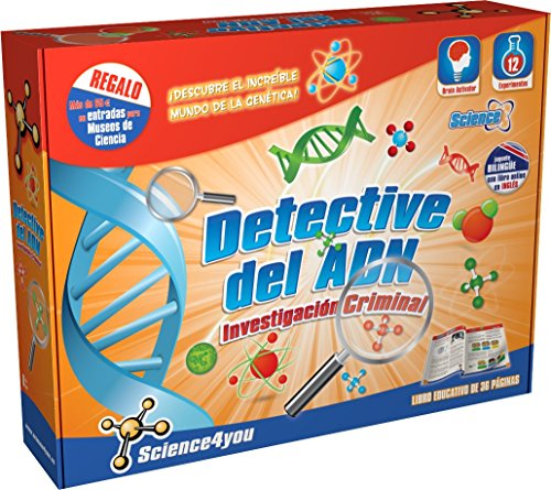 Science4you - Detective del ADN - juguete científico y educativo