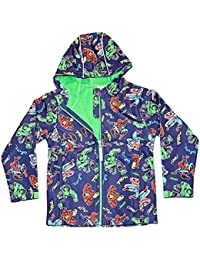 Boys Marvel Avengers Soft Shell Jacket Childrens Hooded Coat