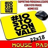 Mouse Pad 46Valentino Rossi Moto Maus Ich Ich Mit Gilt personalisierbar mit Foto, Logo