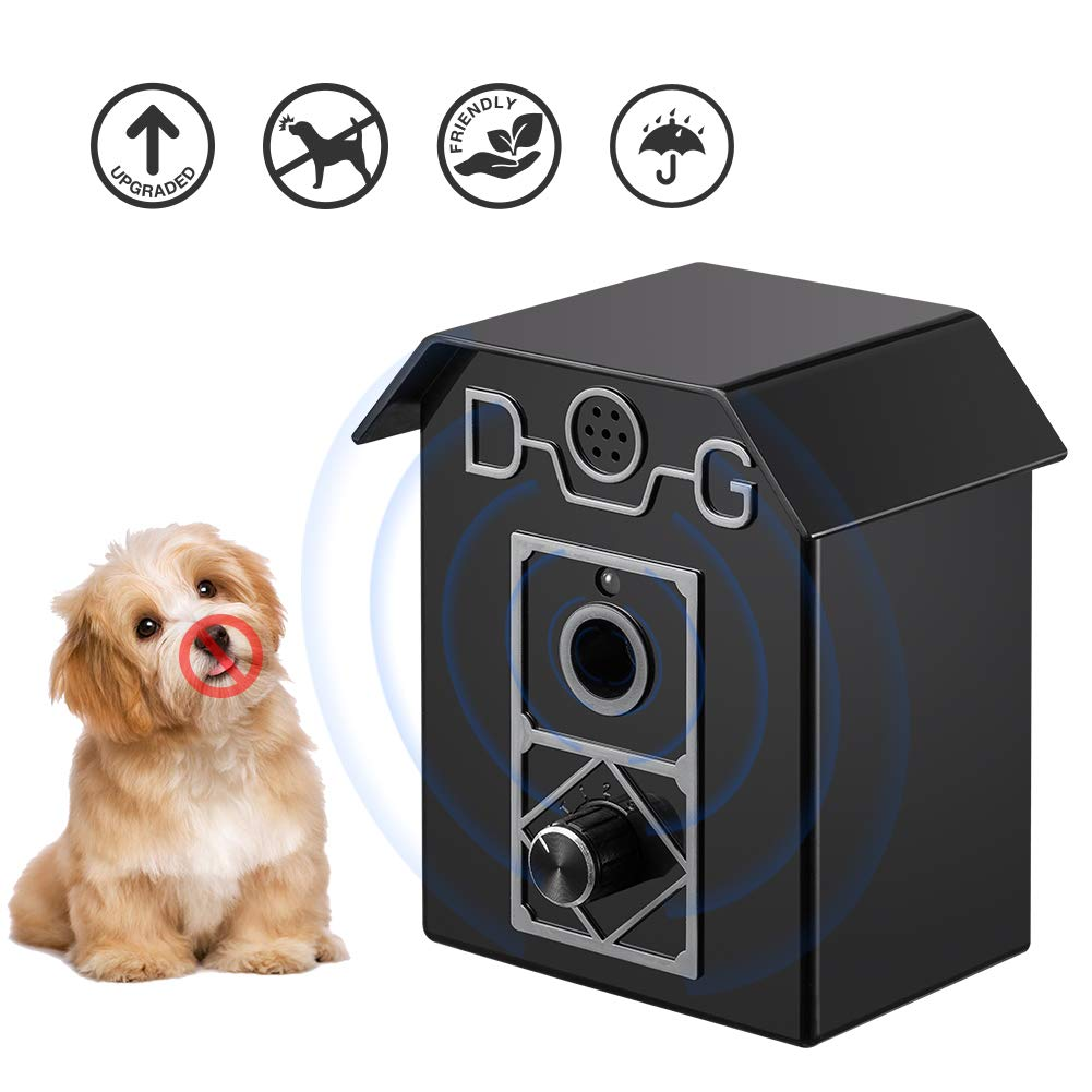 Wango Anti Barking Device, Ultrasonic Stop Dog Bark Deterrents, Waterproof Outdoor Bark Control Device, Safe Harmless and Human Anti Bark Training For Dogs, Pets