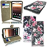 For Alcatel A3 5046Y Case - Leather Wallet Book Flip Case