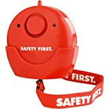 KH security 100109 Huisnoodsalarm met LED-licht, rood