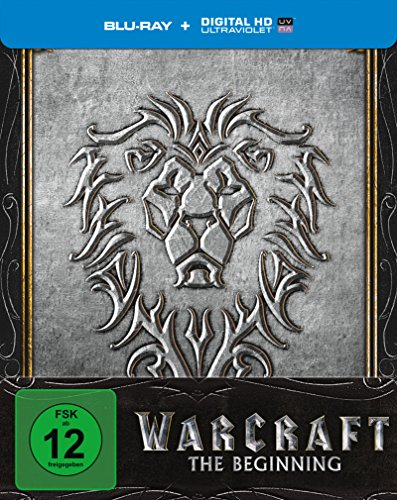 Warcraft: The Beginning - Steelbook [Blu-ray] [Limited Edition]
