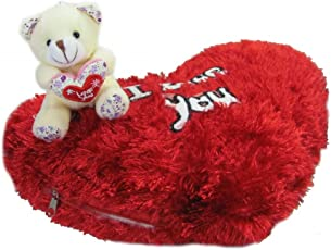 Tickles Teddy I love you cushion kids Boy Girl Gift