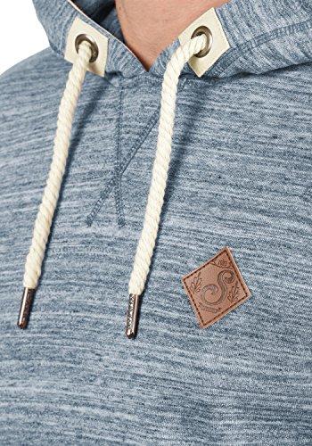 !Solid Kevin Herren Kapuzenpullover Hoodie Pullover Mit Kapuze Und Fleece-Innenseite, Größe:XXL, Farbe:Insignia Blue (1991) - 4