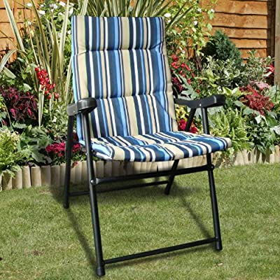 Padded Folding Chair - cheap UK light store.