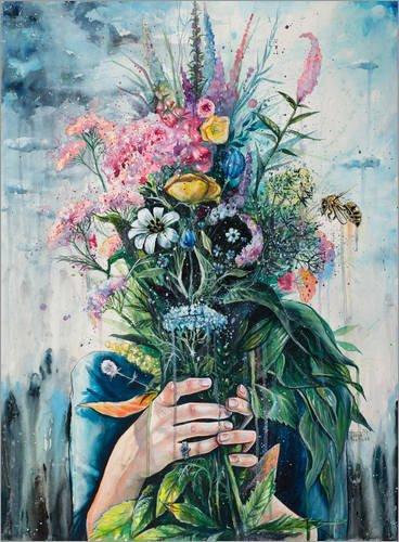 Poster 90 x 120 cm: The Last Flowers di Tanya Shatseva - stampa artistica professionale, nuovo poster artistico