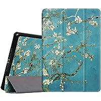 Fintie iPad Air Funda - Súper Thin Smart Case Funda Carcasa con Stand Función y Auto-Sueño / Estela para Apple iPad Air 2013 Versión Tablet, Blossom