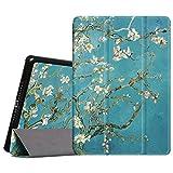 Fintie Apple iPad 2/3/4 Hülle Case - Ultradünne Superleicht Schutzhülle SlimShell Cover Tasche Etui mit Auto Schlaf/Wach und Standfunktion für Apple iPad 2 / iPad 3 / iPad 4 Retina, Mandelblüten