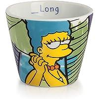 Egan PTS83/2B Lot de 2 verres à café, modèle Marge, porcelaine, multicolore,