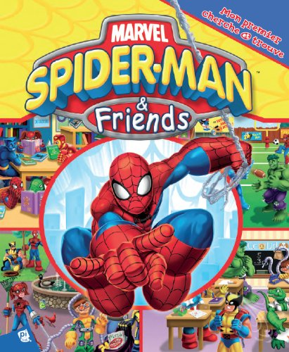 Spiderman et ses amis - Mon premier cherche et trouve