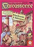 """Asmodee - CARC04 - Jeu de stratégie - Carcassonne Ext 2 """"Marchands et Bâtisseurs"""""""