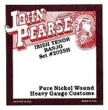 John Pearse 2035H Jeu de cordes pour Banjo ténor Irlandais Tirant fort Naturel