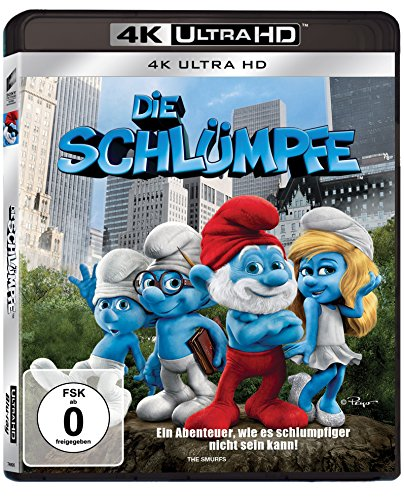 Die Schlümpfe - 4k Ultra HD Blu-ray