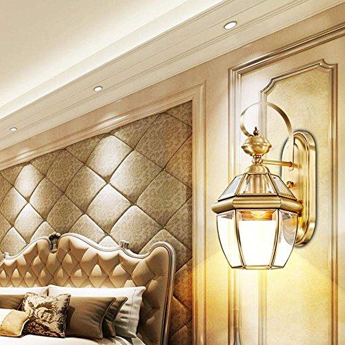 TAI2 Applique Murale, Lampes, éclairage extérieur Couloir Moderne Balcon, Chambre à Coucher créative Salon Villa éclairage E27 (Taille: Largeur 22cm * Hauteur 39cm)