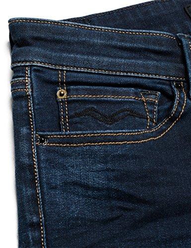 Replay Damen Skinny Jeanshose Luz Blau (Dark Blue 7)