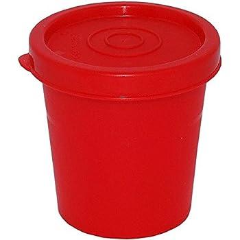 Cello Max Fresh Nano Polypropylene Container, 100ml, Red