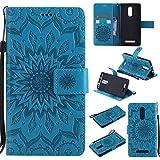 Guran® Funda de Cuero Para Xiaomi Redmi Note 3 / Note 3 Pro Smartphone Función de Soporte con Ranura para Tarjetas Flip Case Cover-azul