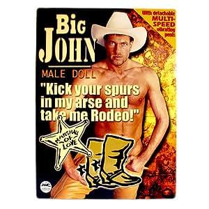 Big John Vibrating Male Sex Doll