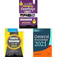 Rapid General Knowledge 2021 for Competitive Exams+General Knowledge for All - 2021+General Knowledge 2021(Set of 3…