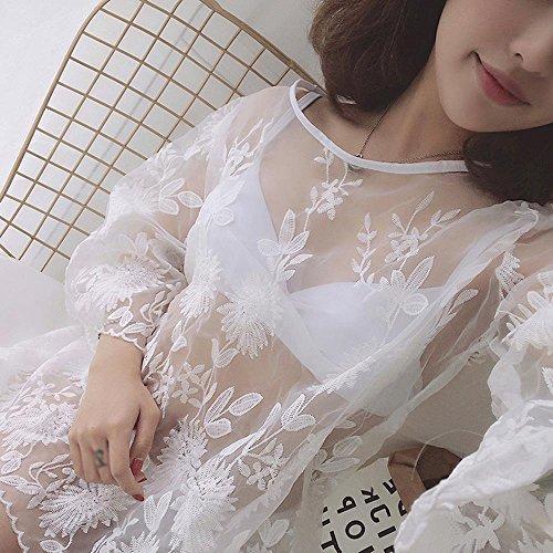 L-ME Badebekleidungsbikini dreiteiliger weiblicher heißer Frühling