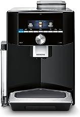 Siemens TI903509DE Kaffeevollautomat EQ.9 s300, 19 bar, Intelligentes Heizsystem, Auto Milk Clean, Super Silent, schwarz/edelstahl