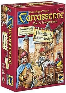 Schmidt Spiele 48135 - Carcassonne, Händler und Baumeister, 2. Erweiterung