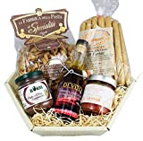 Italienischer Vollkorn Feinkost Geschenkkorb integrale italiano