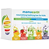 Mamaearth Fruit Based Nourishing Clear Bathing Bar Baby Soap with Glycerine, for Kids – 75g x 5