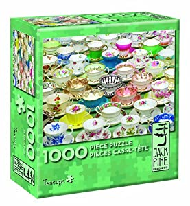 Cobblehill 70027 JackPine Puzzles 1000 Tazas de té, Varios
