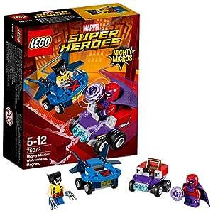 LEGO Super Heroes 76073 - Mighty Micros: Wolverine Contro Magneto