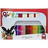 Multiprint Color Maker Disney Cars, Set Impara i Colori a 3 Tempere 100% Made in Italy con 5 Spugnette, Set Timbrini Bimbi, K