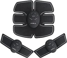 YIOY Bauch Muskeltoner, ABS Trainer Body Fit, Tragbare Unisex-Fitness-Trainingsgeräte, Drahtlose Muskel Übung Für Bauch/Arm/Bein-Training Männer & Frauen Workout-Ausrüstung