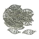 Homyl 30 Stück Antik Silber Tibetanische Schmuck Charms DIY Basteln Schmuckanhänger DIY Handwerk Schmuckherstellung