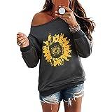 Enfei Be Kind T Shirts Donna Girasole Grafica Beata Camicia Divertente Inspirational Teen Girls Tees Top