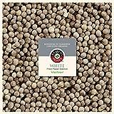 Pimienta Blanca Kampot, calidad premium - 100g (2 x 50g) - producida y comercializada de forma sostenible - por fairfino