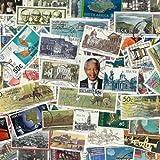 Colección de sellos de Sudáfrica obliterar, 100 ejemplares